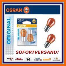 2x OSRAM original line py21w intermitentes atrás intermitentes pera Chevrolet chrysler, etc.