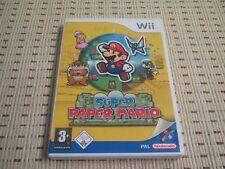 Super Paper Mario para Nintendo Wii y Wii U * embalaje original *