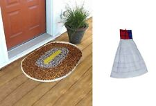 SA Collections Cotton Round Door Mat-1 - Free Handmade WashBasin Towel