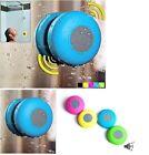 Waterproof Wireless Bluetooth Handsfree Mic Suction Speaker Shower Car mic BE