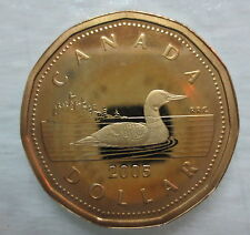2005 CANADA LOONIE PROOF ONE DOLLAR COIN