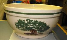ALPINE POTTERY BOWL WITH TREE 2001 WAYNE COUNTY FAIR PROMOTION WOOSTER OH