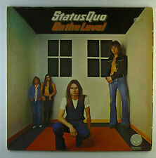 """12"""" LP - Status Quo - On The Level - L5290c - washed & cleaned"""