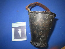 ROYAL EXCHANGE ASSURANCE FIRE BUCKET TABLE MATCH HOLDER MATCH SAFE STRIKER