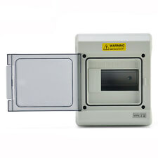 6 Way IP65 Waterproof Electrical Distribution Enclosure Outdoor Switch Box 1506