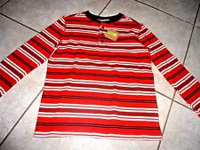 NWT- Crazy 8 Boys Shirt small  top clothes 5 6   long sleeve thermal striped