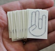 SHOCKER Lot of 25 Vinyl Decal Stickers Car Window Wall Bumper JDM ILLEST DRIFT