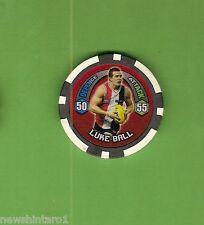 #T53. 2009 AFL CHIPZ TAZO, LUKE BALL , ST KILDA SAINTS