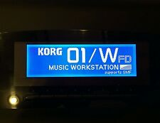 Korg 01/w t1 t2 t3 i2 i3 Wavestation A/D EX Oberheim ob-12 display grafico!