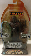 STAR WARS CHEWBACCA FORCE BATTLERS // HASBRO - 2005 // SOUS BLISTER