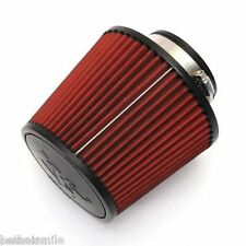 "High Flow Cold Air 3"" 76 mm 160mm K&N Induction Filter Round Tapered Cone Style"
