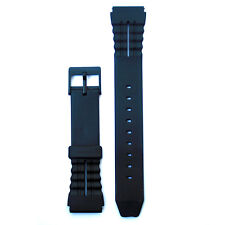 18mm Replacement Rubber Band Fits Casio and Other Sport Watchbands 2R792