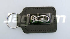 JAGUAR Black Leather Daimler Key Fob GAC1012