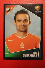 Panini EURO 2004 N. 329 NEDERLAND OVERMARS NEW With BLACK BACK TOPMINT!!