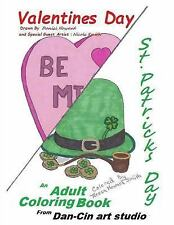 A Valentine and St. Patrick's Day Coloring Book by Daniel Howard (2016,...