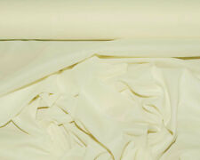 """PONGEE LINING FABRIC PEARL/ IVORY 60"""" BRIDAL HOME DECOR COSTUME CLOTHING  BTY"""