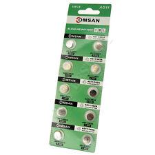 10 AG11 SR58 162 361 362 LR721 Cell Battery Omsan