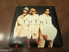 Total - What About Us Promo CD Single 1997
