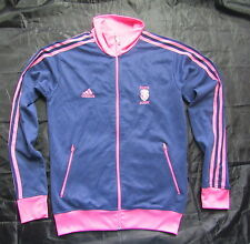 STADE FRANCAIS Paris FRANCE RUGBY zip sweatshirt ADIDAS 2009-2010 adult SIZE  S