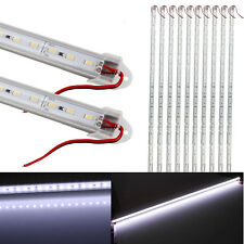 10 Pack 12V 18W 72LED 1800LM 6000k White Light U-Shape Light Bar Rigid Stri