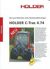 Equipment Brochure - Holder - C-Trac 4.74 - Tractor - GERMAN (E3217)
