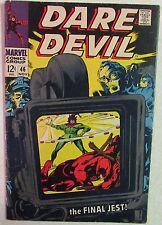 Marvel Comics - Daredevil #46 - 1960s Silver Age Comic Book - The Jester