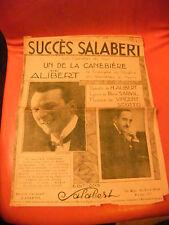 Partition Un de la Canebière Alibert Succès Salabert