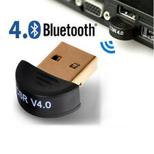 New Mini USB Bluetooth CSR V4.0 Dongle Wireless Adapter For Windows 8 7 10 XP