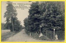 cpa CERNAY la VILLE (Yvelines) COTE des PUCELLES Route d'Auffargis Vaux Abbaye