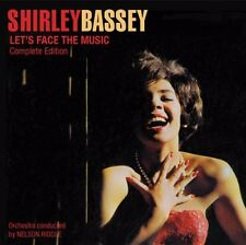 Let's Face The Music + Born To Sing The Blues - Shirley Bassey (2014, CD NEU)