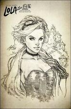 LOLA XOXO #5 C 1:12 SIYA OUM sketch variant ASPEN COMIC 2014 incetive limited NM