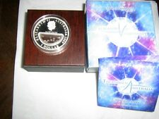 TREASURES OF AUSTRALIA DIAMOND 1oz SILVER BRAND NEW=MINT CONDITION