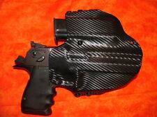 LEFT HAND HOLSTER COMBO W Extra Mag BLACK KYDEX DESERT EAGLE 357 44 MAG 50 AE