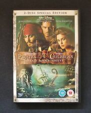 Pirates of the Caribbean Dead Man's Chest DVD Family Film 2 Disc Special Edition