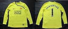 Edwin van der Sar MANCHESTER UNITED NIKE Goalkeeper 2009 SIZE XL.Boys(XS adults)