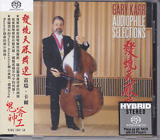 """Gary Karr - Audiophile Selections"" Hybrid SACD CD Stockfisch King Records New"
