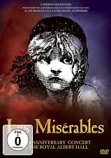 LES MISERABLES - 10TH ANNIVERSARY CONCERT...  DVD MUSICAL KONZERT NEU