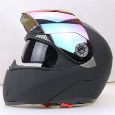 New 5 Colors DOT Dual Visor Flip Up Motorcycle Helmet Full Face Motocross 2016
