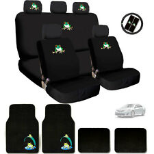 New Ultimate Frog Seat Steering Wheel Covers Floor Mats Gift Set For Toyota
