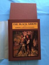 THE BLACK ARROW - FIRST DELUXE LIMITED EDITION WITH N.C. WYETH ILLUSTRATIONS
