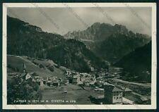 Belluno Caprile Monte Civetta Foto FG cartolina VK2756
