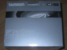 Tamron SP 24-70mm f / 2.8 DI VC USD lens for Canon DSLR Telecamera F2.8