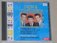 DION & THE BELMONTS -Castle Gold Collection Vol. 9- CD
