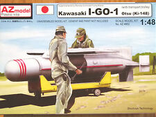 AZ Model 1:48 Kawasaki I-GO-1 Otsu (Ki-148) Missile Model Kit
