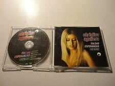 Christina Aguilera Falsas Esperanzas (Remixes) SPAIN IMPORT CD SINGLE POP LATIN