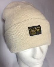 G star Bonnet Cap G-star raw denim MILTON ORIGINALS BEANIE neuf BISQUE