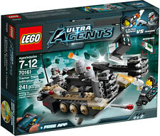 LEGO Ultra Agents 70161 Tremor Track Infiltration Set New In Box Sealed #70161