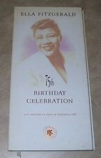 Ella Fitzgerald 75th Birthday Celebration 2 CD Set Original Decca Recordings
