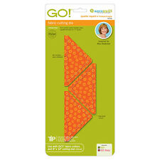 "AccuQuilt GO! & Baby Quarter Square Triangle-4"" Finished Square Die 55316 Quilt"
