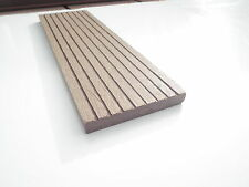 Sample of Decking Skirting Wood Plastic Composite 12mm x 73mm Coffee WPC